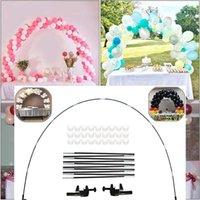 Party Dekoration Ballon Bogen Kit Einstellbar für verschiedene Tabelle Ballons Stand Set Geburtstag Hochzeit Weihnachten Babyparty-Abschluss Dekor