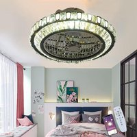 Ceiling Fans LED Fan With Lighting Modern Dimmable Chandelier Adjustable Wind Speed Mute Remote Control Living Room Bedroom Office Corridor