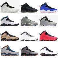 Mens Tinker Cement 10 basketball shoes 10s Desert Camo GS Fusion Red Smoke Grey Jumpman Powder Blue trainers men sneakers sports shoe 4kYiT#