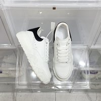 2021 luxury brand designer casual shoes thick-soled couple cushion white chunky 35-45