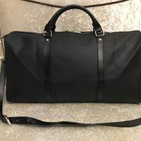 Scarbio GRATUITAMENTE uomo borse da donna Borse da donna bagaglio da viaggio Borsa da viaggio in pelle PU Borse da uomo grandi borse 55 cm