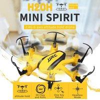 Drohnen Original JJRC H20H Hexacopter 2.4G 4CH 6 Achsenhöhe Hold Headless Mode RTF 2 RC Modelle Multicopter Spielzeug Gelb