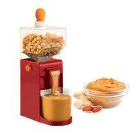 500ml 전기 그라인더 땅콩 튀김 버터 메이커 캐슈 Hazelnuts 커피 연삭 기계 210712