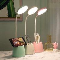 USB Charging Portable LED Desk Lamps Adjustable DIY Night Lights Table Lamp For Computer Reading Study Bedside