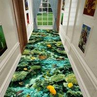 3D diversão aventura corredor corredor tapetes de cozinha tapetes kids quarto decorativo jogar tapete tapetes pastoral tapetes para sala de estar 55 s2