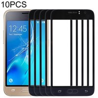 housings 10 PCS Front Screen Outer Glass Lens for Samsung Galaxy J1 J120