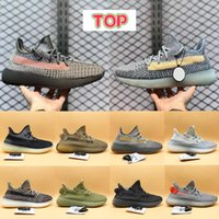 Hombres Ash Stone Blue Pearl V2 Zapatillas Running Shoes Reflective Fade Carbon Cinder Earth Israfil Flax Zyon Tail Light Mens Sneakers Mujeres Entrenadores