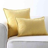 Nordic Light Luxury Sofa Square Bettdecke Wohnzimmer Back Kissen Taille Kissen ohne Kern