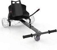 Hoverboard Go-Kart Вложение сиденья - Регулируемая длина кадра на белом фоне аксессуар для детей / взрослых