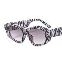 2021ファッションサングラス女性ブランドデザイナー小フレーム多角形クリアレンズヴィンテージサングラスフラットアイウェア女性UV400 E172