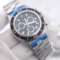 Новые 1884 мужские спортивные часы Montre de luxe наручные часы Монтер Япония кварцевый движение хронографа черное лицо Orologi da Uomo di lusso Hanbelson