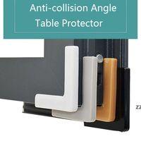 홈 코너 프로텍터 Shockproof 실리콘 안전 창 헤드 보호 모서리 가장자리 슬리브 알루미늄 강철 반동 HWF10402