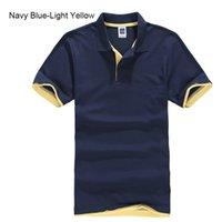 UrsportTech Men's Polo Shirt para hombres Desiger Polos Hombres Algodón Camisa de manga corta Jerseys Golftennis Plus Tamaño XS- XXXL 210707