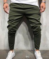 Summer Beaux designer Crayon Nouveau pantalon décontracté à rayures de printemps 2019 pour vêtements pour hommes