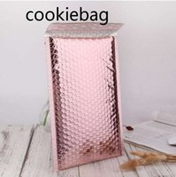 2021sd Express Bubble Envelop Bag Logistics packaging Rose Gold Foil Mailer Gift Packaging Wedding Favor Film Candy bags 58