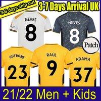 2021 2022 Soccer Jerseys Neto Neves Raul PoDence Adama Semedo J.otto Wandarders مخصص 21 22 الصفحة الرئيسية Third Third Audge رجل أطفال شباب قميص كرة القدم