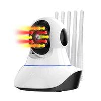 Caméras 720p IP Caméra Sécurité WiFi Sans fil Smart Home Surveillance CCTV SURVEILLANCE IR VISION NUIT VISION 2MP Baby Monitor Pet