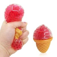 Vent Fidget Toys Ice Cream Grape Bubble Bead Ball Toy Squishy Stress Relief Squeeze Tpr Pinch Decompression