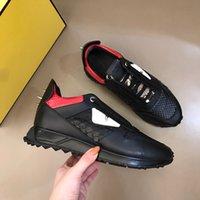 2021 Мужские дизайнерские кожаные кроссовки кроссовки обувь мужские монстры натуральные кожи, соединяясь вместе кроссовки сапоги с телеком