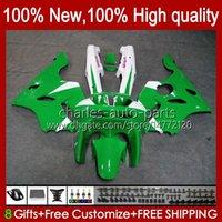 Kawasaki Ninja ZX 6R 636 600CC 600 CC ZX-636 ZX6R 94 95 96 97 Bodywork 50HC.36 ZX636 Green Stock Blk ZX-6R 94-97 ZX600C ZX600 ZX 6 R 1994 1995 1995 1996 1997 Bodys Kit