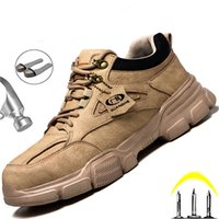 Boot Male Safety Shoes Work Sneakers indestructible Laarzen Winter Men Steel Nose Sports Safty Dropshipping 0802