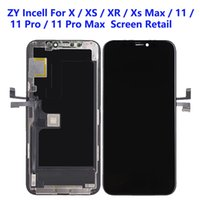 For iPhone XS XR 11 Pro Max LCD Panels Used to repair phone display ZY Incell Quality Touch Digitizer Screen Assembly Replacement Gifts Tempered glass film & tools