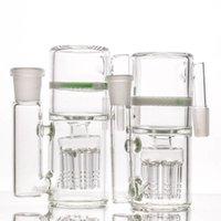 8arms 애쉬 포수 현대 디자인 흰색 벌집 물 담뱃대 Ashcatchers 14mm 및 18mm 크기