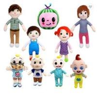 DHL 선적 cocomelon JJ 소년 과일 수 박 봉 제 인형 장난감 아이 크리스마스 선물 GYQ