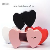 Gift Wrap Creative Heart Drawer Box Party Wedding Promotion Flower Hand Jewelry Packaging Decoration Surprise