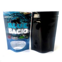 Blue Bacio King Cookie California 3.5G Mylar Bags Bags King Cookie Blue 41 Сумка на молнии Упаковка DHL бесплатно
