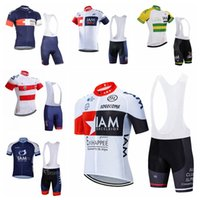 Iam equipe ciclismo mangas curtas jersey (bib) shorts conjuntos respirável soft skin-friendly variedade de opções accpet personalizado 31712