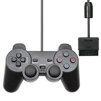 Contrôleurs de jeu Joysticks pour PS2 Wired PC Contrôleur PC Gamepad Manette 2 Controle Mando Joypad Console Accessoire