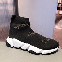 패션 양말 드레스 신발 여성 남성 캐주얼 플랫폼 니트 최고 품질 가벼운 최대 확대 최대 컷 양말 신발 상자