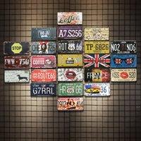 Sinais de estanho Campeão Cerveja Rota 66 Vintage Arte de Parede Retro Sinal de Estanho Velho Metal Pintura Art Bar Bar Restaurante Decoração Home DHD5515