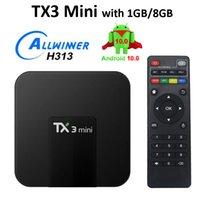 TX3 미니 S905W 2GB 16GB 안드로이드 8.1 TV 박스 Amlogic 쿼드 코어 울트라 HD H.265 4K 스트림 미디어 플레이어 더 나은 MXQ Pro X96 미니 S922