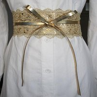 Belts Designer Belt Elastic Lace Jeans Female Wedding Dress Waistband Black For Women