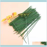 장식 꽃 화환 축제 파티 용품 Garden50pcs 인공 극 철사 실크 장미 잎 결혼식 홈 장식 DIY 화환