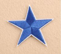 Pasta a stella a cinque punte Patch Patch Accessori Scarpe e Cappelli Patch Patch Applique Applique Applique Ricamo Patch Tessuto e cucitura 42 S2