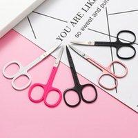 Kaş Araçları Şablonlar 1 adet Paslanmaz Çelik Küçük Tırnak Burun Saç Makas Kesim Manikür Yüz Kırpma Cımbız Makyaj Güzellik Aracı