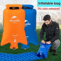 Outdoor Pads Naturehike Washable Portable Stylish Nylon Inflatable Bag Waterproof Dry Sack Pouch For Mattresses Sleeping Mat Pad Camping