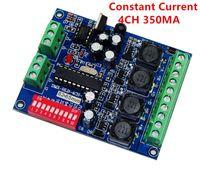 Corrente corrente 350 / 700mA ad alta potenza 3 / 4CH RGB / RGBW DMX Controller, Drive, DMX512 DECDER LED Wall Warse Lampada DMX CC Dimmer