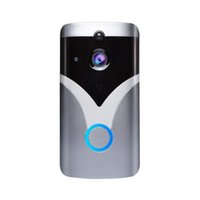 WLAN-WLAN-Video-Türklingel Easy Install Apartments PIR Motion Detection 2 Wege Audio Home Security Visual HD 720P Kamera Smart
