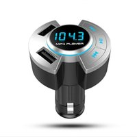 Receptor de vehículos de aire de Aire del automóvil Cargador USB Música Auto Music Player A Mano Bluetooth Adaptador Bluetooth Adaptador de Conexiones Inalámbricos Transmisor FM
