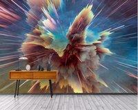 Fondos de pantalla Ayinyousem colorido cielo estrellado vasto universo fantasía fondo pared papel pintado Papel de parede 3d pegatinas