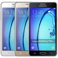 Восстановленные оригинальные Samsung Galaxy On5 G5500 Dual SIM 5,0 дюймов Quad Core 1.5GB RAM 8GB ROM 8MP 4G LTE Android Smart Phone Free DHL 1 шт.