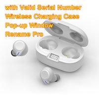 Air Gen 2/3 TWS Écouteurs Renommer Pro Pop Up Fenêtre Bluetooth casque Bluetooth PARING AUTO PARING CASE DE CHARGEMENT SANS ÉTAILLAGES