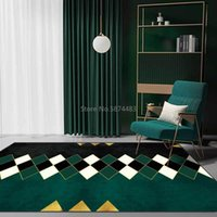 Teppiche Mode Modern Retro Diamant Geometrie Mosaik Küche Wohnzimmer Schlafzimmer Nachttisch Teppichbodenmatten