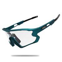 Солнцезащитные очки Черные разноцветные велосипеды Очки UV400 MTB Велосипед TR90 Спорт на открытом воздухе Поляризован 1/5/6 Линзы