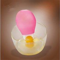 1PC 요리 도구 Vitellus 계란 분리 도구 화이트 세퍼레이터 계란 노크 젤 분배기 흡입 흡입 계란 마스터 주방 256 S2