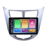 Araba DVD GPS Radyo Çalar Hyundai VERNA 2011-2013 Kafa Ünitesi Destek Müzik 3G Wifi Ayna Link OBD2 MP3 MP4 9 inç Android 10